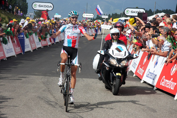 Tour de France 2011: Plateau de Beille finish